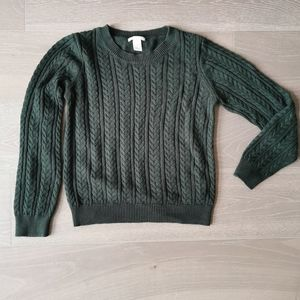 Cable Knit Sweater EUC